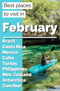 Best places to visit in February