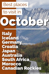BEST PLACES TO VISIT IN OCTOBER