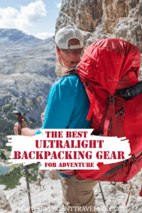 Best ultralight Backpacking Items