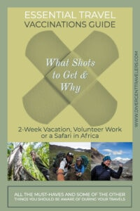 Essential Travel Vaccinations Guide: What Shots to Get & Why By America's Adventure Couple Divergent Travelers