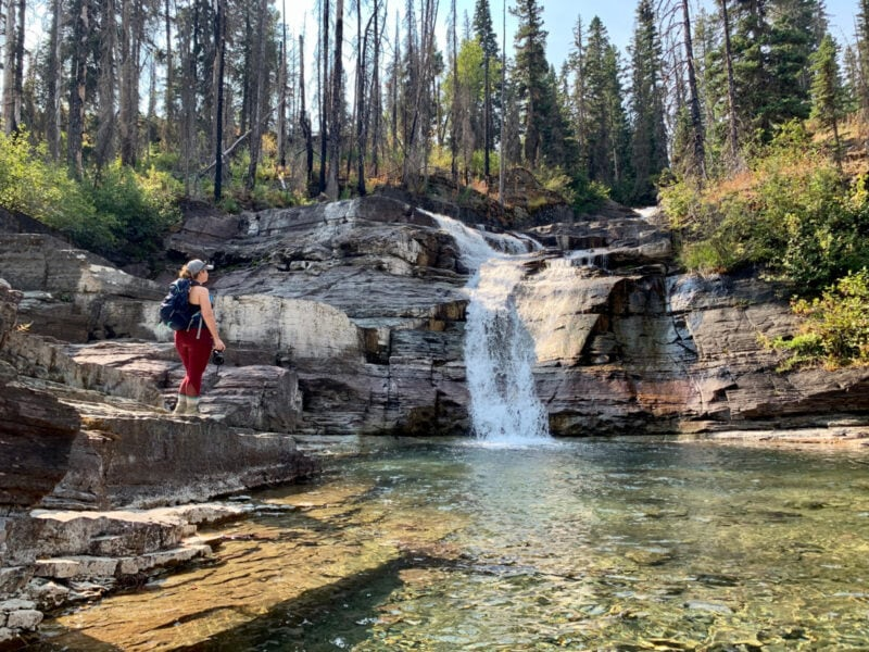 How to Conquer the Three Falls Hike in Glacier National Park