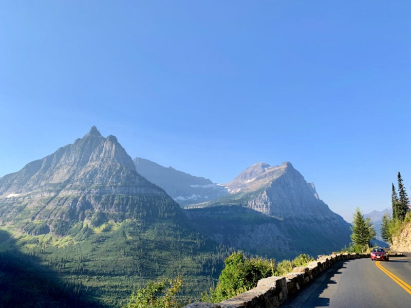 How to Plan Your Drive in the Going to the Sun Road in Glacier National Park
