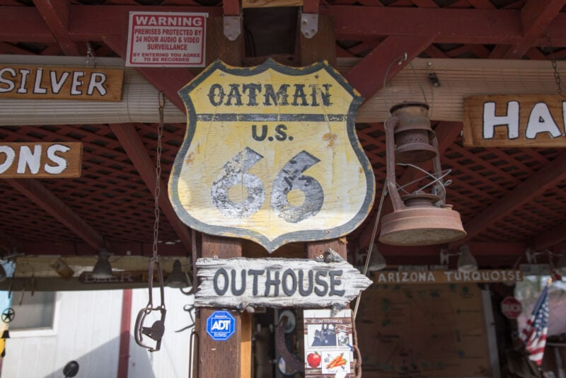 Things to do in Oatman Airzona