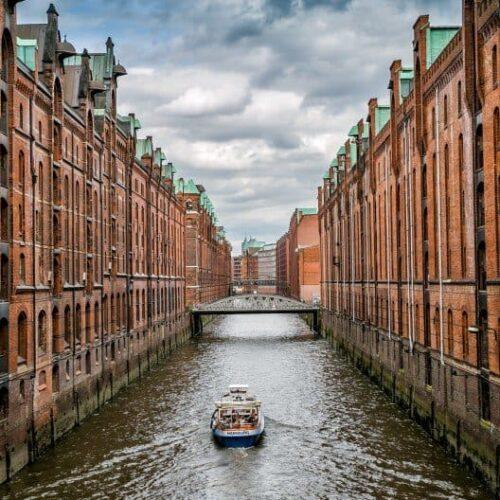 Warehouse district 3 days in Hamburg Germany