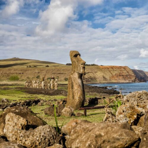 Easter Island Heads - Lina Stock