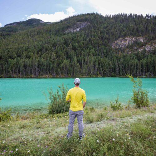 David Stock in Jasper National Park, Alberta, Canada