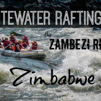 Whitewater Rafting Zambezi River Zimbabwe Viator