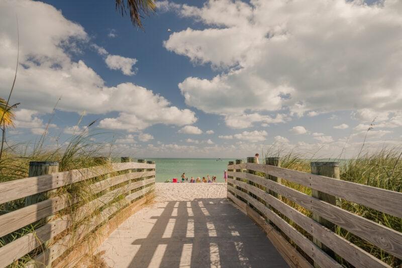 Beach in Key West Florida