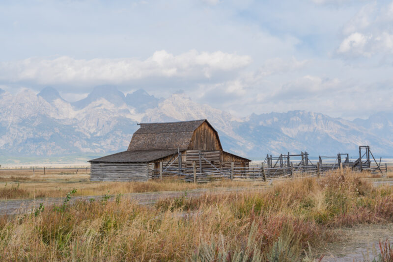 Mormon Barn in Grand Teton National Park