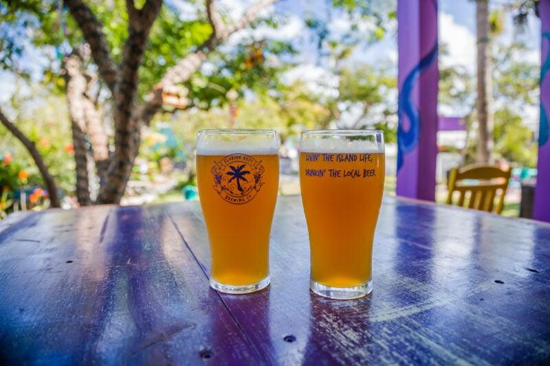 Beer Garden at Florida Keys Brewery - things to do in Islamorada, Florida