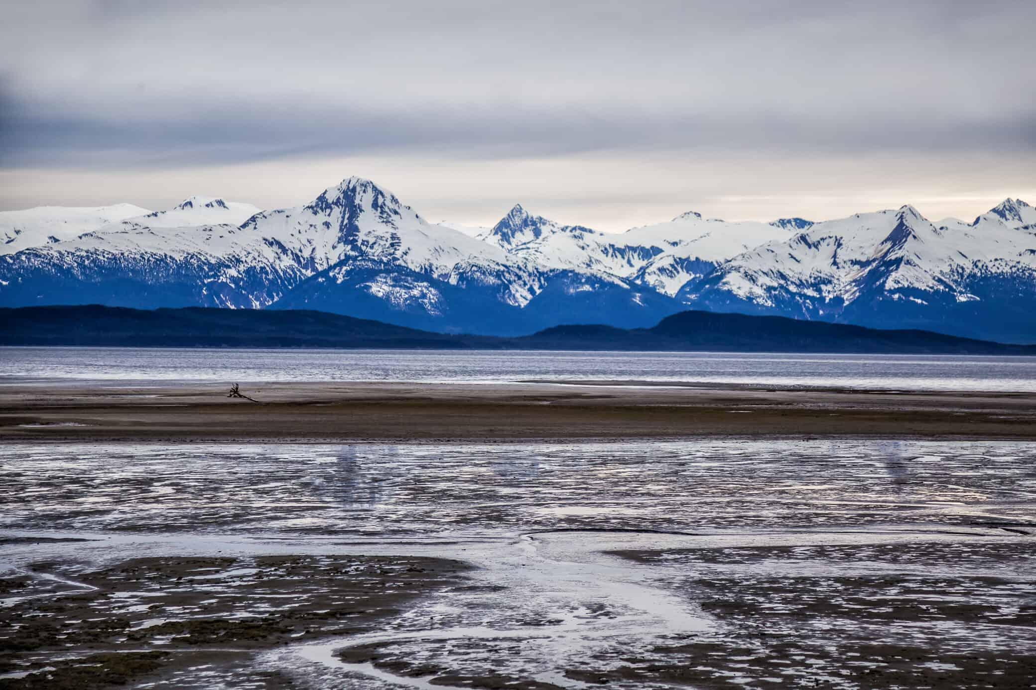 Eagle Beach in Juneau Alaska