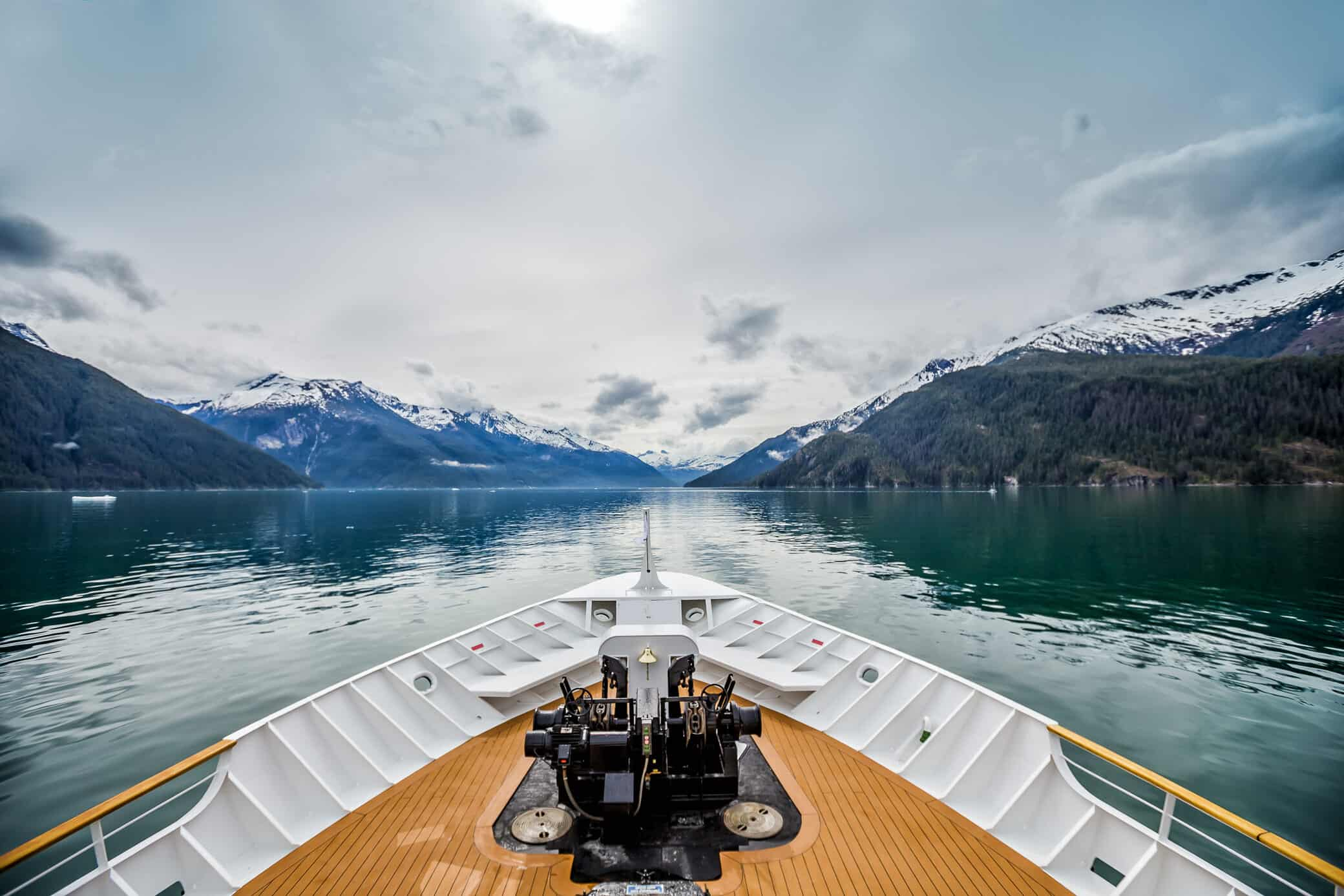 best time to cruise Alaska