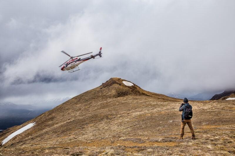 Denali State Park Heli Hiking Alaska